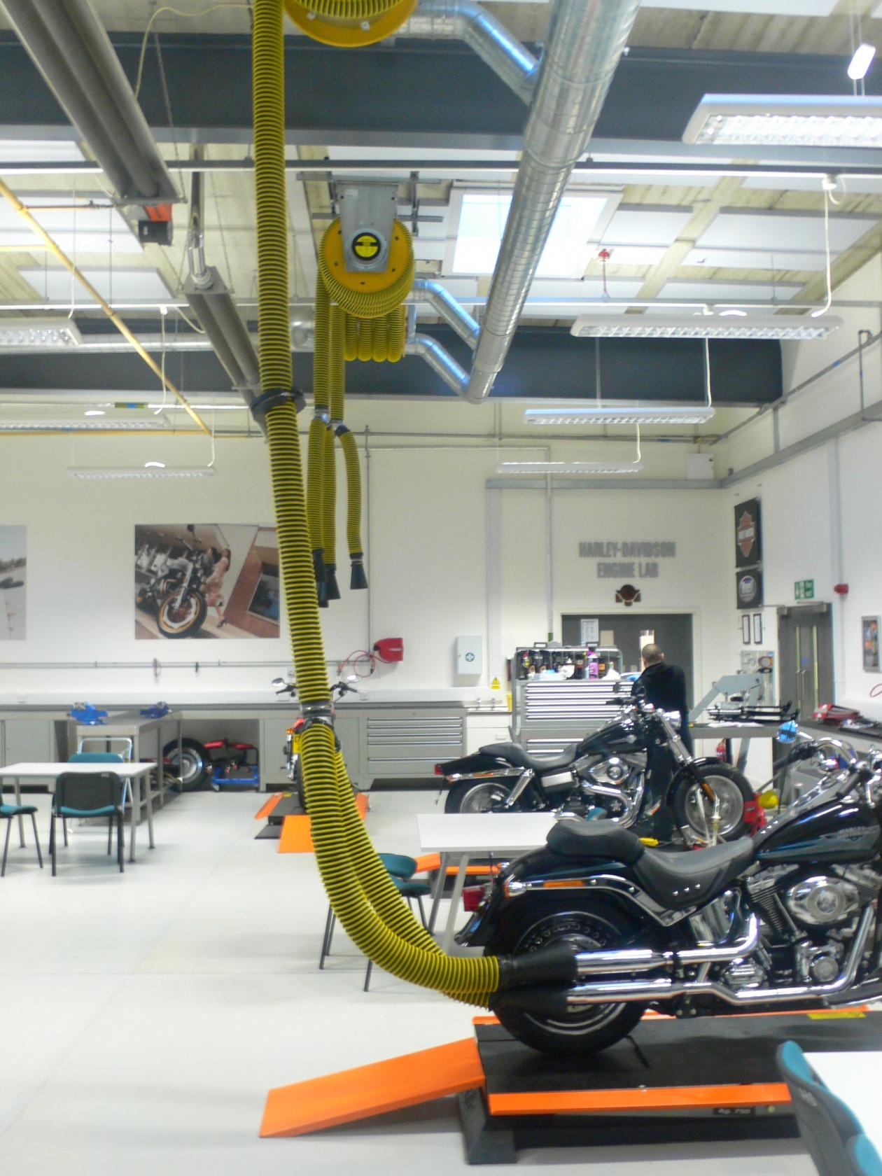 Aes Reels General Shop Equipment Exhaust Extraction