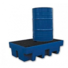 Containment bund for 2 oil drums (200 Liters)